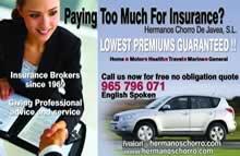 Hermanos Chorro Insurance Costa Blanca