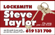 Steve Taylor Locksmith Costa Blanca