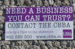 Advertising at el Cids Bowls Club