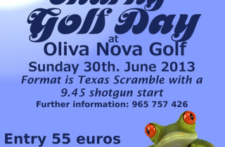 CBBA Sponsored Golf in aid of HELP of Denia