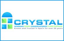 Crystal Windows Logo - Windows Doors and Conservatories Costa Blanca