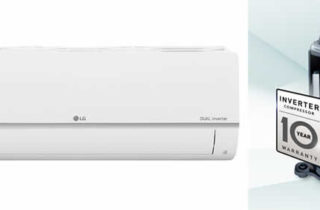 LG Dual Invertor Air Con Unit