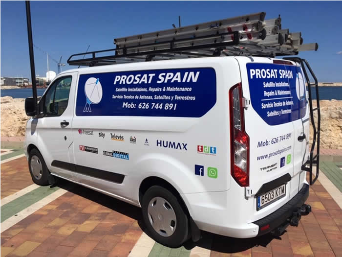 Prosat Spain TV & Satellite Costa Blanca North