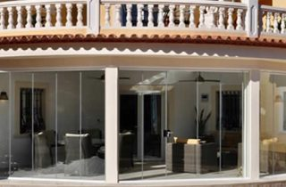 Crystal Windows Glass Curtains Costa Blanca