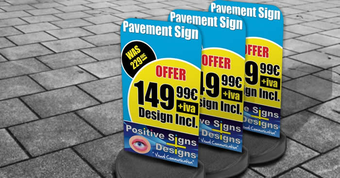Positive Signs - Pacement Signs