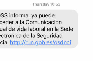 Social Security Text Spain
