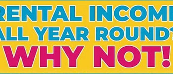 Holiday Rental Income All Year Round