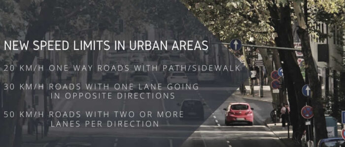 New Speed Limits In Urban Areas